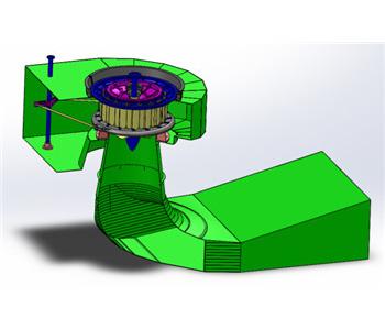 轴贯流式水轮机