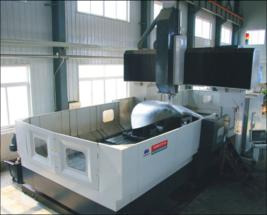 GMB2540龙门式镗铣加工中心   (三轴联动, 4.2m×3.2m×1.25m)