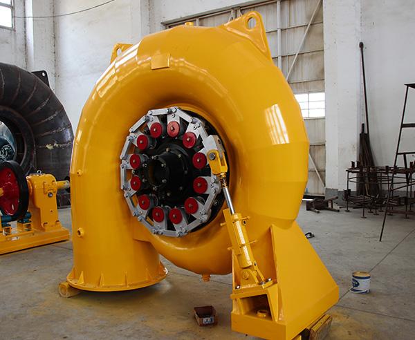 混流式水轮机
