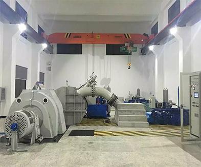 湖北省人坪河二级水电站冲击式水轮机