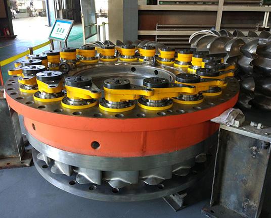 混流式水轮机导水机构装配